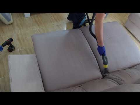 Limpieza Sofás by Limpieza Especializada (LE) | How to clean sofas - upholstery | Karcher Puzzi.