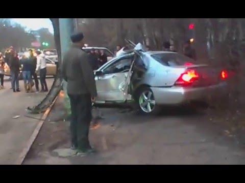 Авария в городе Новосибирске на проспекте Дзержинского