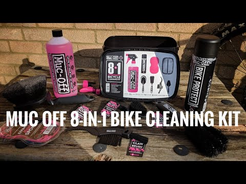 Muc Off 8-in-1 Bike Cleaning Kit - Unboxing