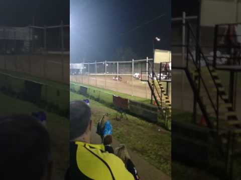 4 Wide Sprint Car Salute at Cottage Grove Speedway