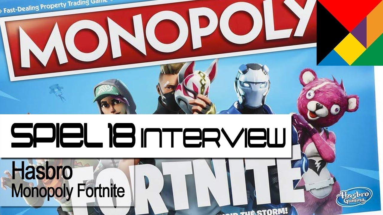 Hasbro Monopoly Fortnite Interview Spiel 18 Hd German