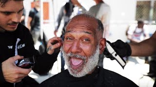 Haircuts For The Homeless - A Haircut Can Change A Life