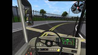 rigs of rods school bus driving thomas saf t liner hdx pm route
