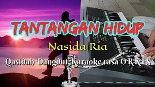 Gambar cover TANTANGAN HIDUP - Nasida Ria Qasidah Dangdut KARAOKE rasa ORKES Yamaha PSR S970
