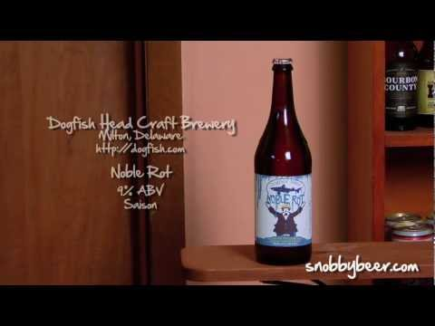 Dogfish Head Noble Rot - Snobby Beer Reviews