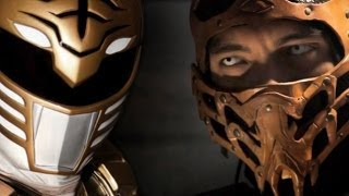 WHITE RANGER vs SCORPION - Super Power Beat Down (Episode 10)