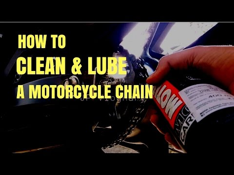 How To Clean & Lube a Motorcycle Chain | Yamaha FZ-s V2.0 FI | JP Vlognary