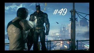 Batman: Arkham Knight Walkthrough Gameplay - PS4 - Part 49 - Barbara is Alive!!