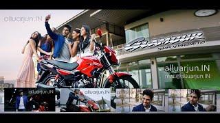 alluarjun hero glamour 125cc bike ad 2015 alluarjun hero glamour alluarjunin
