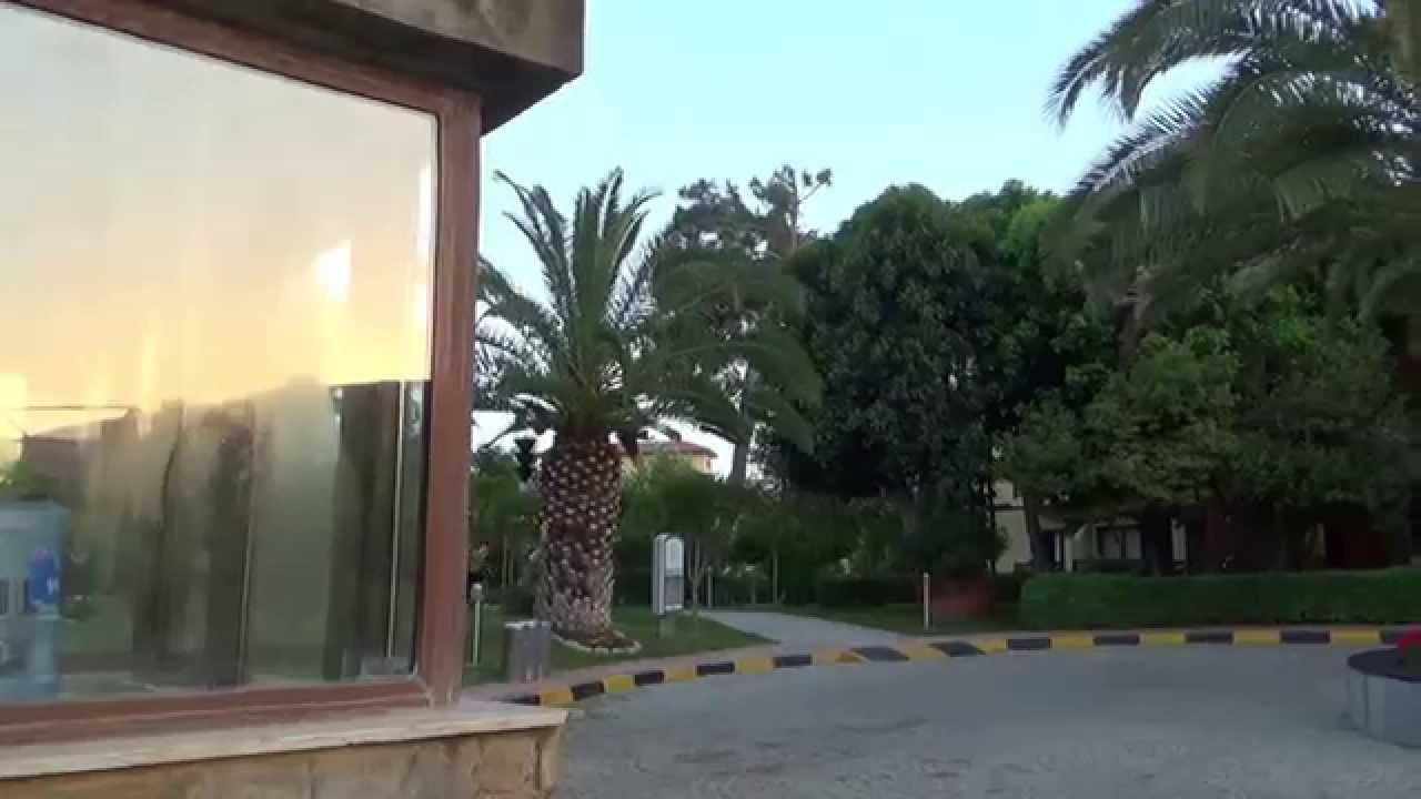 Türkei Hotel Alba Resort Hotel Colakli Hotel Side von aussen Eingang ...