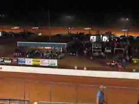 PureStock Feature Start to Lap 4 Cochran Motor Speedway