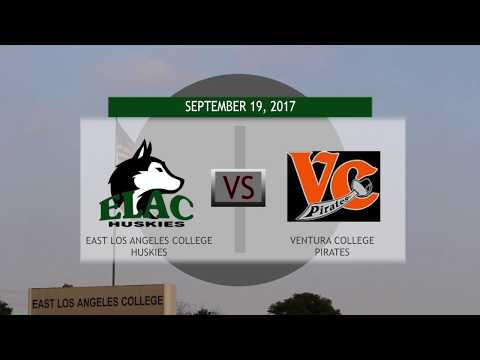 ELAC Women's Soccer vs. Ventura College 2017