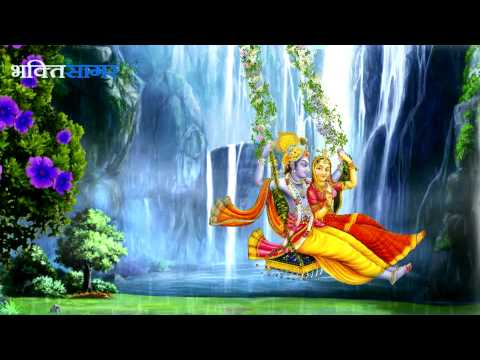 Shri Radha Krishna Bhajan - Radhe Jhoolan Padharo By Sarita Ji & Sarla Ji
