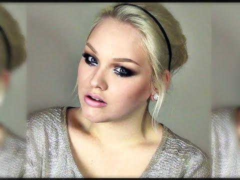 NYE ''Glitter & Diamonds'' Party Look - Makeup Tutorial