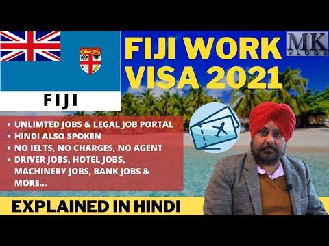 FIJI Work Permit 2021   Latest FIJI WORK VISA 2021 Process, Job & Apply   FIJI Jobs for Indians