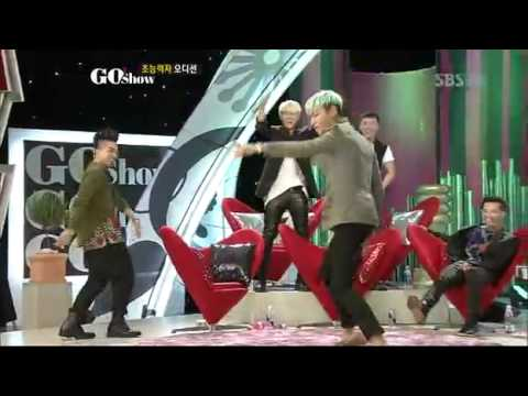 [Eng Sub] G0Show- TOP's Dance Battle