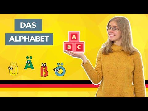 Day 1 - Das Alphabet - The German alphabet - German to go