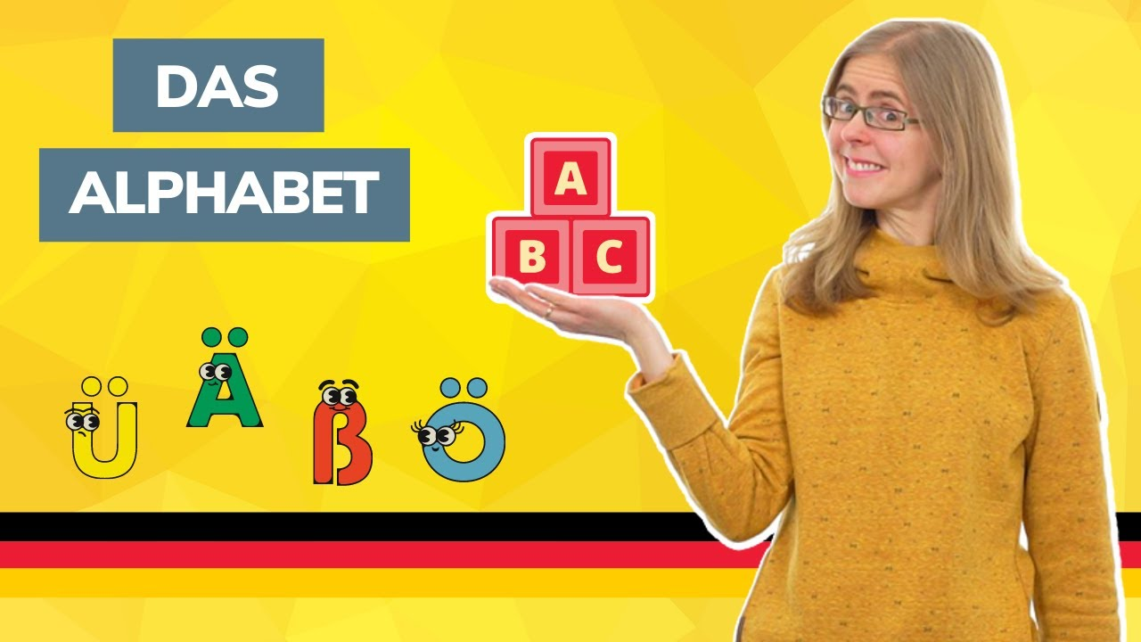 day 1 das alphabet the german alphabet german to go youtube. Black Bedroom Furniture Sets. Home Design Ideas