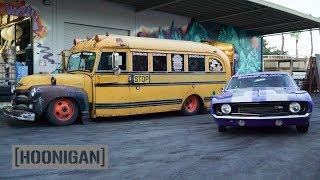 Download [HOONIGAN] DT 192: Twin Turbo Short Bus & 800hp 69 Camaro Mp3 and Videos