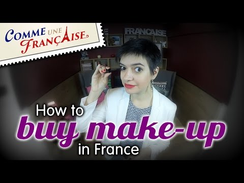 How to buy make-up in France