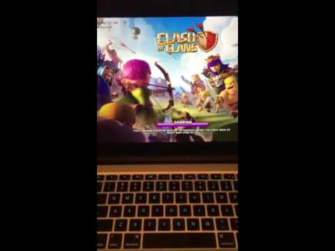 How to play CLASH OF CLANS ON MACBOOKS