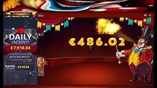 Machine à sous WILD CIRCUS, un jeu avec des tas de différent Bonus pour gagner.
