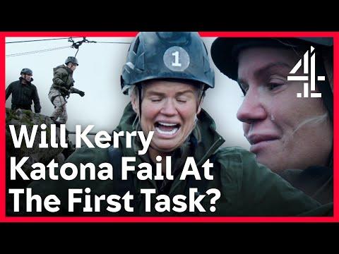 Can Kerry Katona & These Other Celebs Hack SAS Training? | Celeb SAS: Who Dares Wins