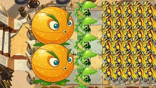 Plants vs Zombies 2 - Citron and Snap Pea vs All Zombies