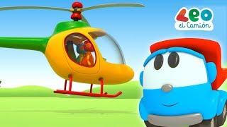 Leo el Pequeño Camión - Leo y el Helicóptero