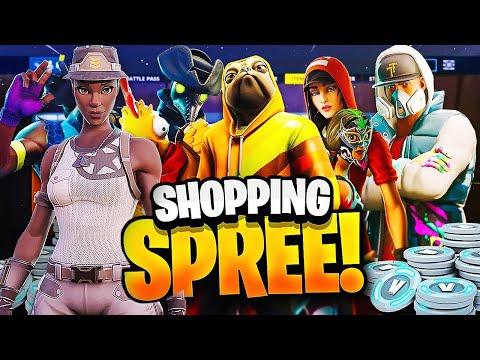 INSANE 100,000 V-BUCKS SPENDING SPREE ( I Bought Recon Expert ) Shopping Spree