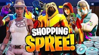 INSANE 100,000 V-BUCKS SPENDING SPREE - Part 2 - Shopping Spree