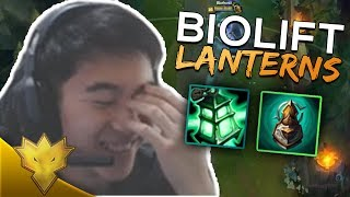 DOUBLELIFT DOESN'T LIKE LANTERNS - BioLift Stream Highlights & Funny Moments