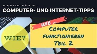 Wie funktionieren Computer? Video Teil 2 - Das BIOS einfach erklärt