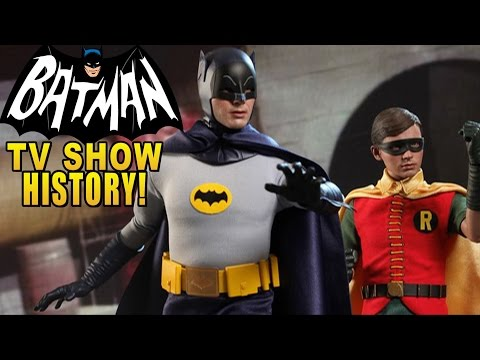 Batman Arkham Origins - History behind the Batman Tv Series