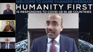 Humanity First USA Game Changer Webinar: COVID-19 Response: Atif Mian, Dr. Faheem Younus