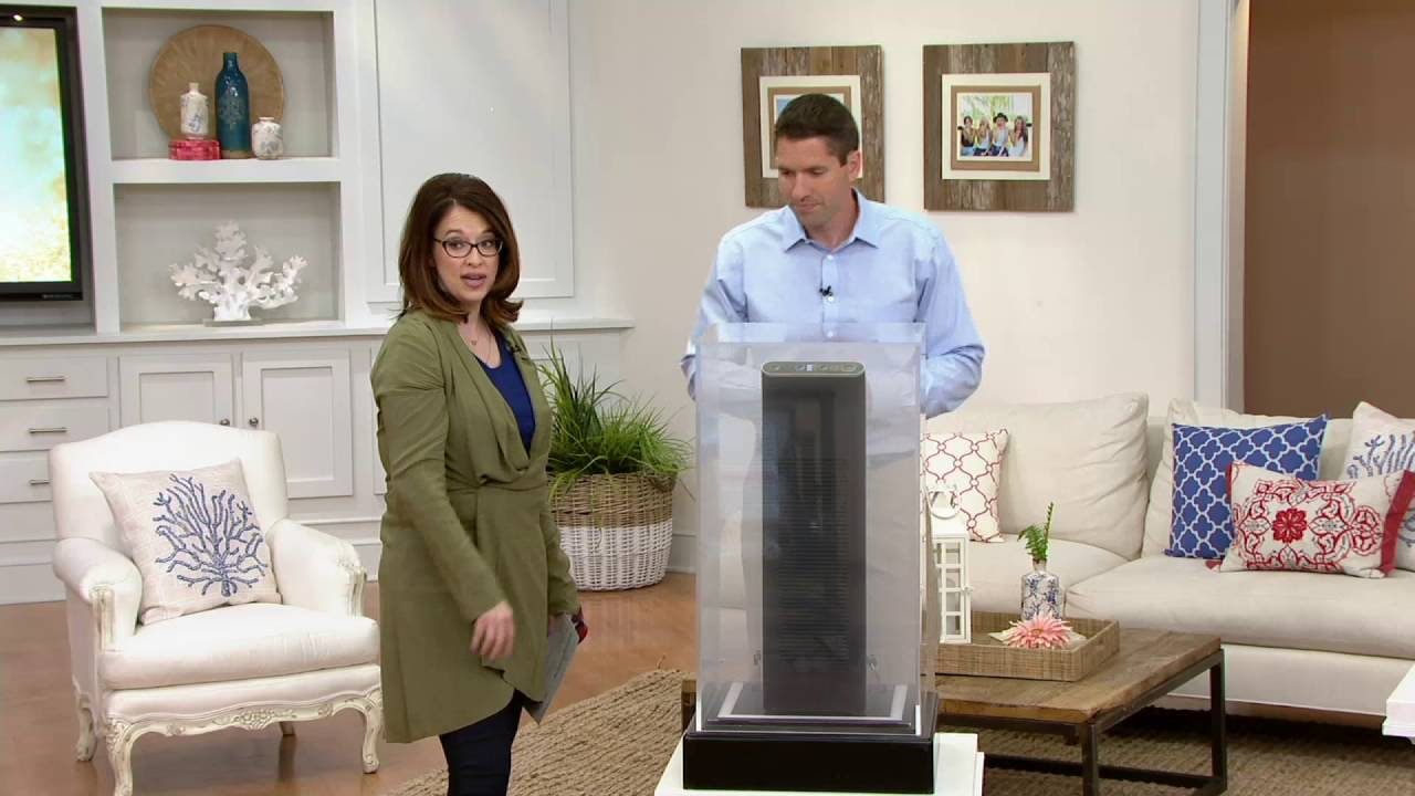 ionic pro platinum air purifier wpermanent filter on qvc - Ionic Pro Air Purifier