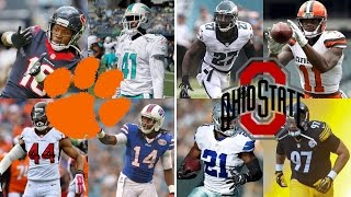 CLEMSON vs OHIO STATE IN THE NFL