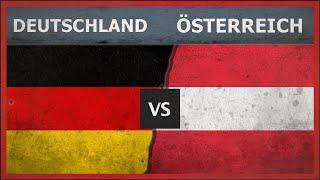 DEUTSCHLAND vs ÖSTERREICH - Militär Vergleich - 2018 (Fußball)