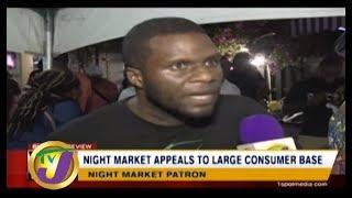 TVJ News: Business Review Night Market in Kingston - September 1 2019