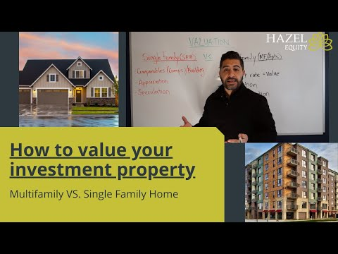 How to value your property? Multifamily Vs. Single Family Home (SFH)