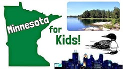 Minnesota for Kids | US States Learning Video