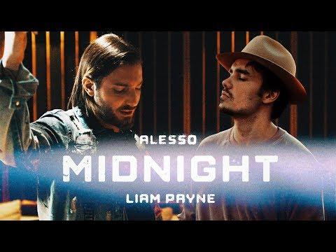 Смотреть клип Alesso Ft. Liam Payne - Midnight