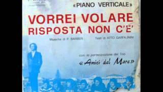 PAOLO BARBERI E IL PIANO VERTICALE      VORREI VOLARE    1971