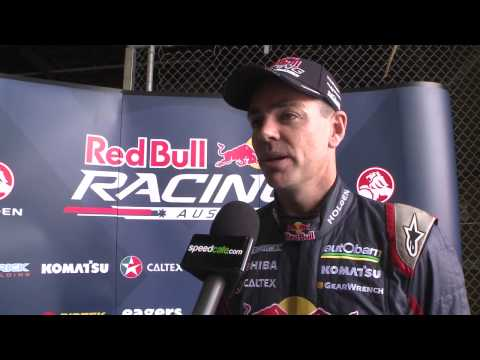 Red Bull V8 Supercars launch: Craig Lowndes