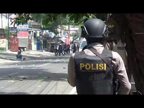 Eksekusi di Jalan Gunung Merapi Makassar Berakhir Rusuh