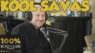 100% REALTALK Podcast #1 | Kool Savas | MC Bogy & B-LASH