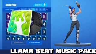 Fortnite - Llama Beat Music Pack with Llama Bell emote!