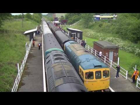 Great Central Railway Nottingham Summer Diesel Gala 2017