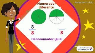 Frações com denominador igual