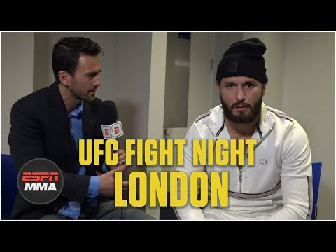Jorge Masvidal on Leon Edwards fight, Darren Till KO [FULL] | UFC Fight Night | ESPN MMA